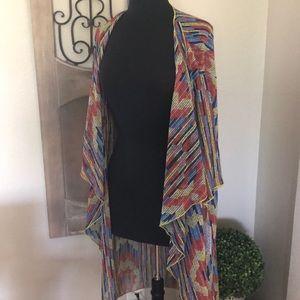BRAND NEW!! Lularoe multicolor Kimono!